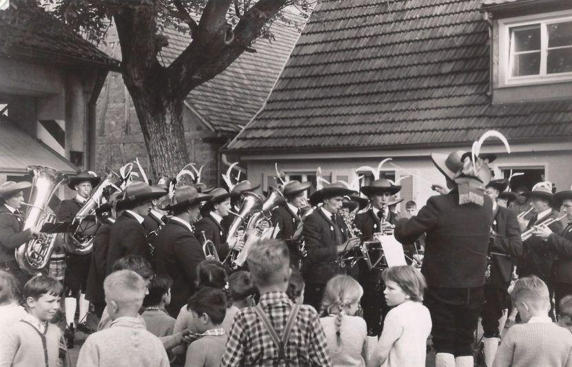Musikkapelle Wildermieming 1960er Jahre