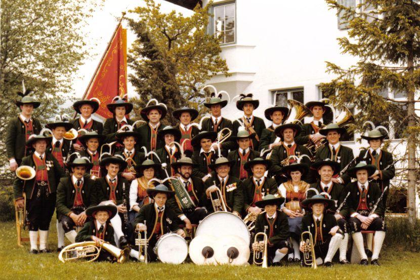 Musikkapelle Wildermieming 1970er Jahre