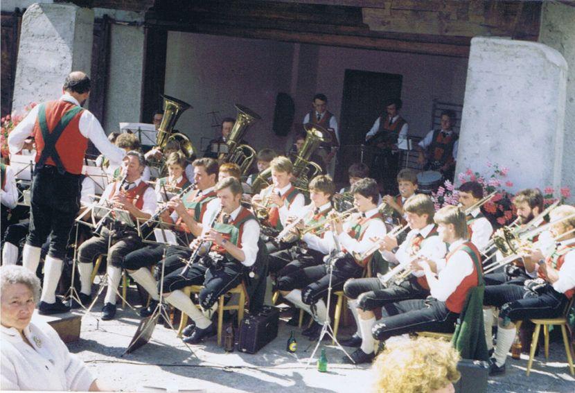 Musikkapelle Wildermieming 1985