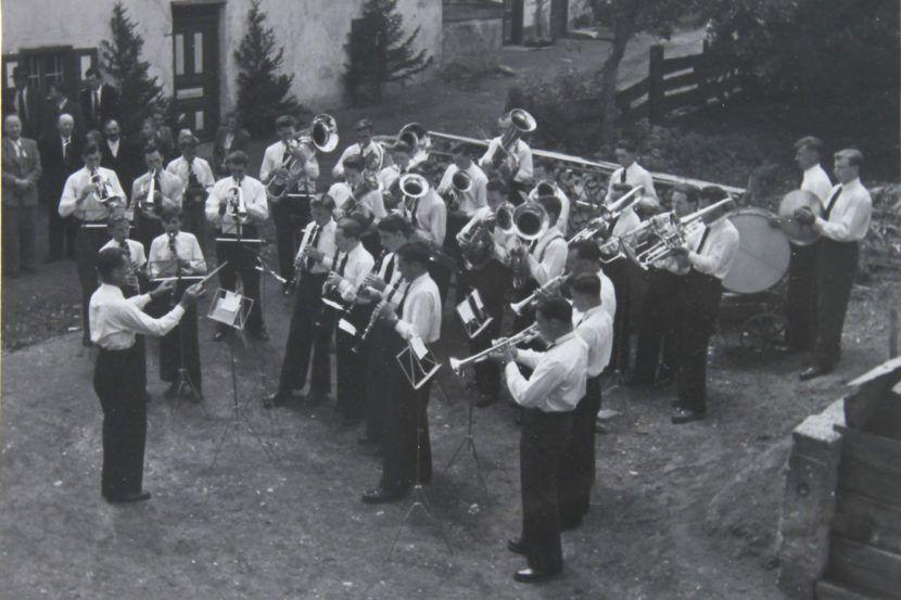 Musikkapelle Wildermieming 1951