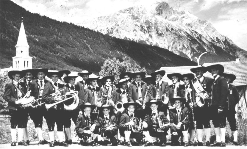 Musikkapelle Wildermieming 1960