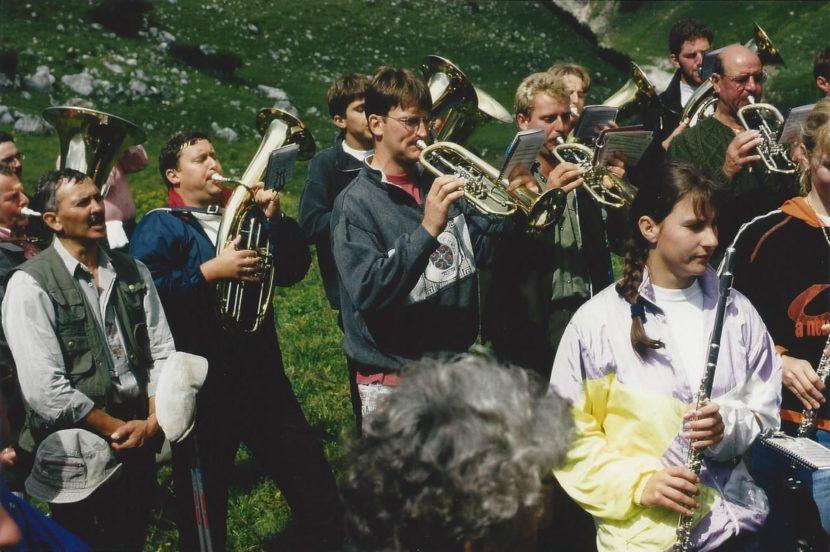 Musikkapelle Wildermieming 1996