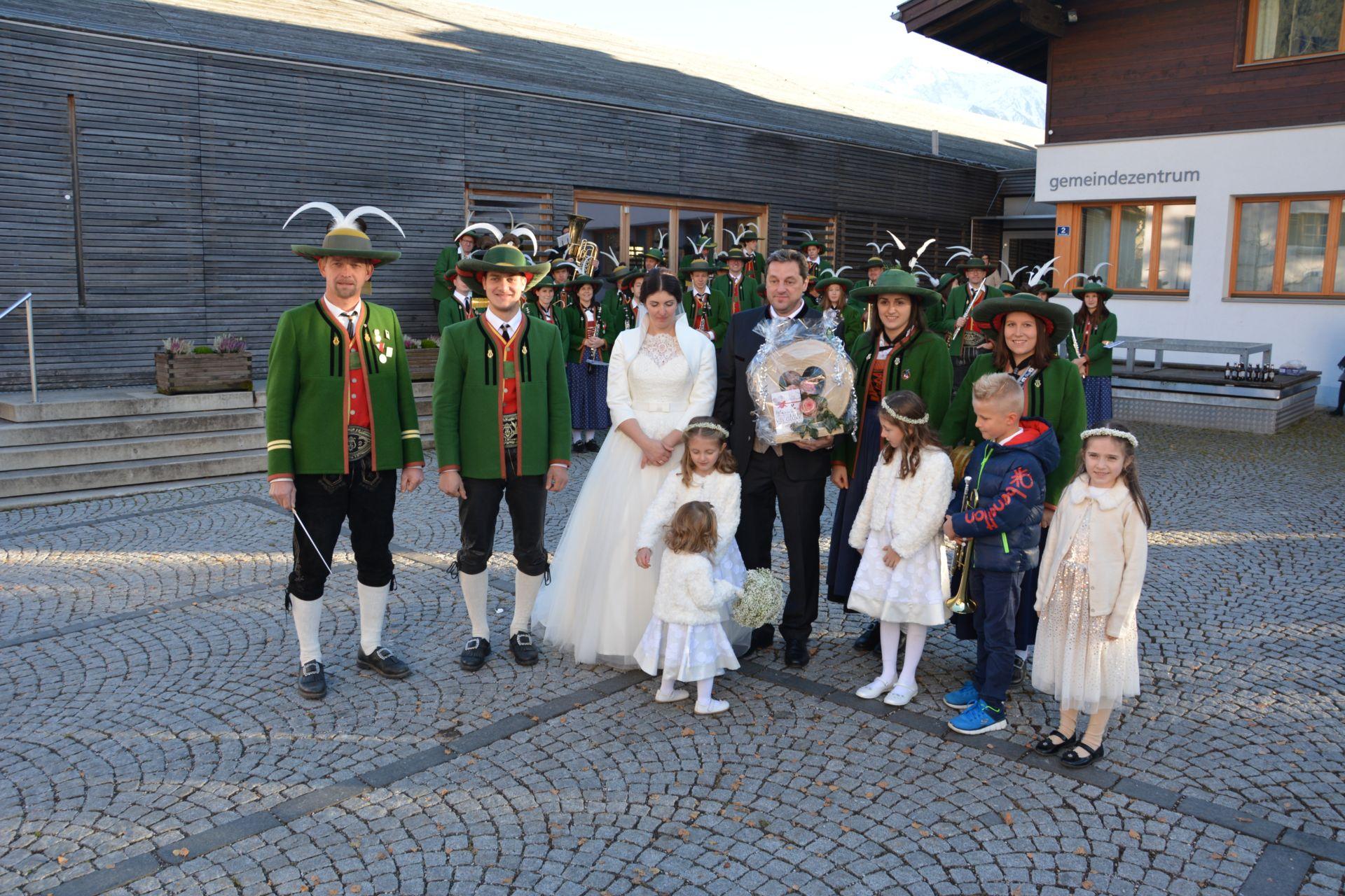 Hochzeit von Christoph und Mirjam