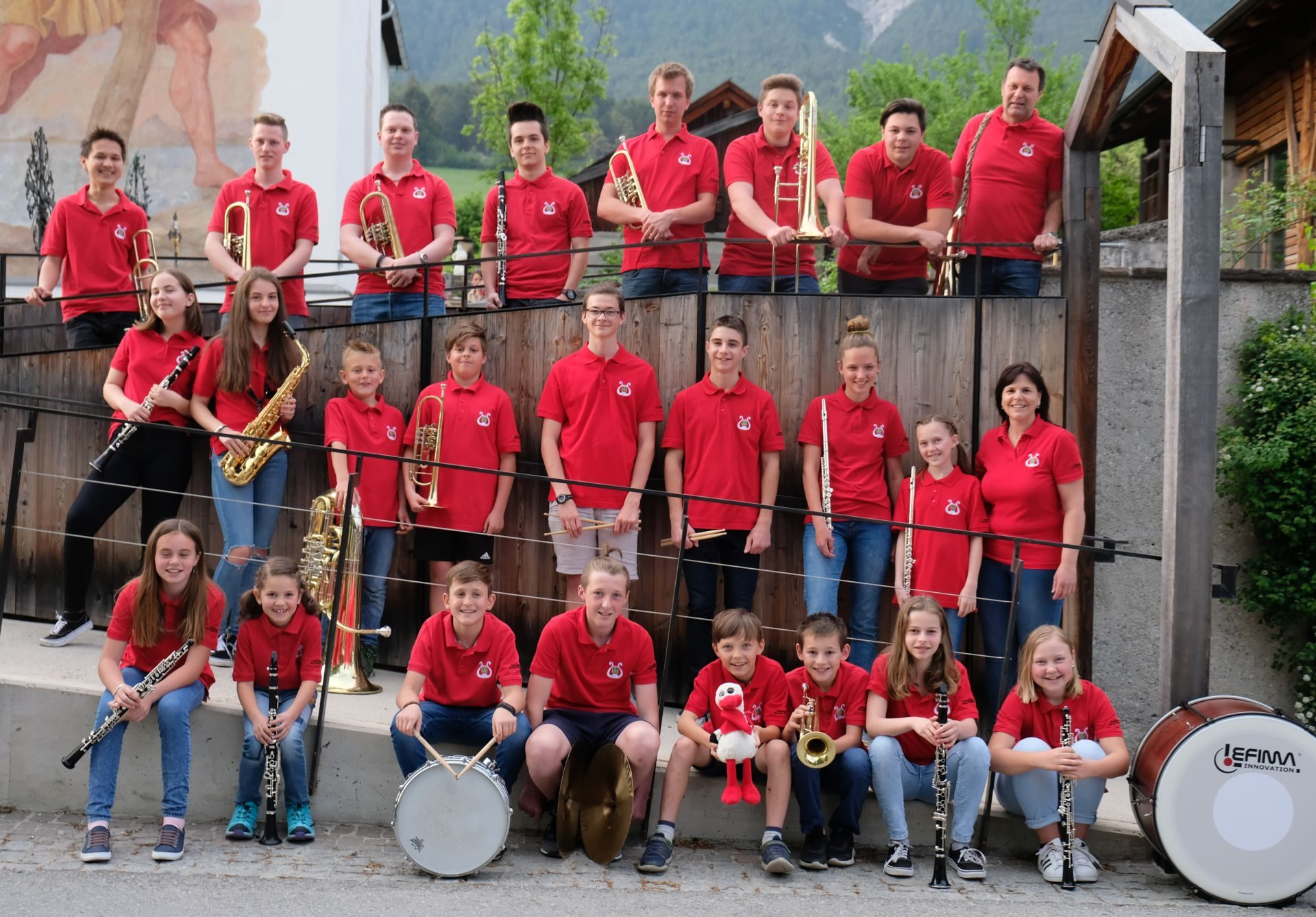 Jugendmusikkapelle Wildermieming